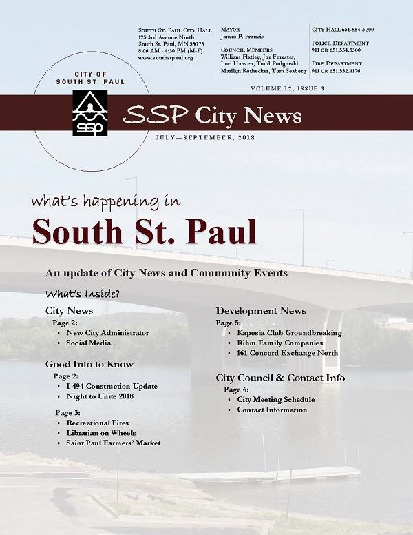 Image of SSP City News Cover