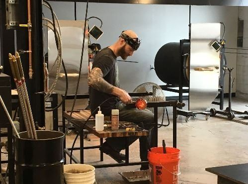 Image of Vandalia Glassworks Artist