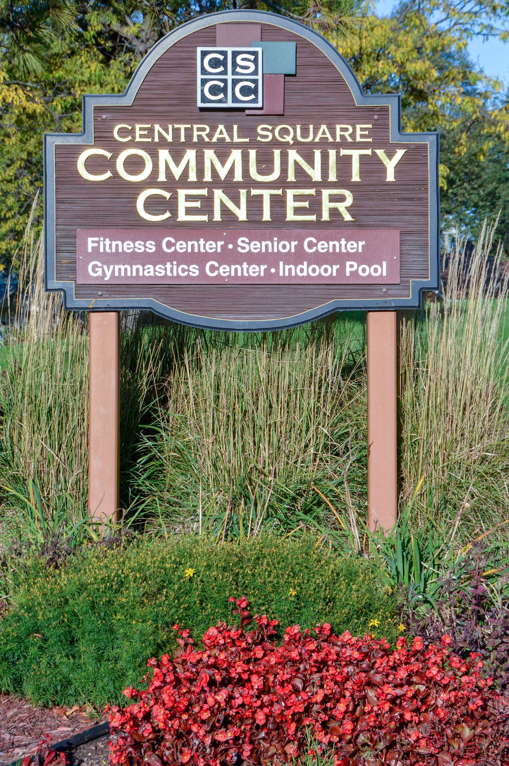 Central Square Community Center Sign