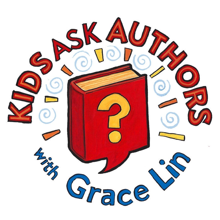 Kids Ask Authors logo