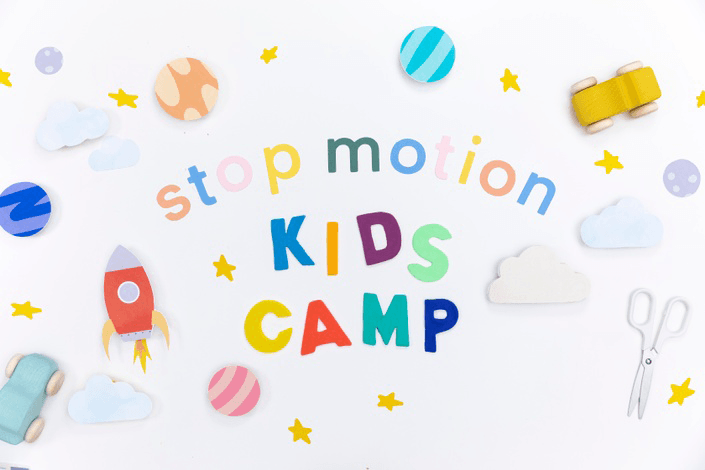 Stop Motion Kids Camp logo